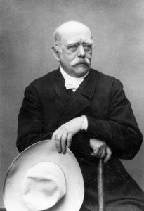 Na zdjęciu sam P. Bismarck